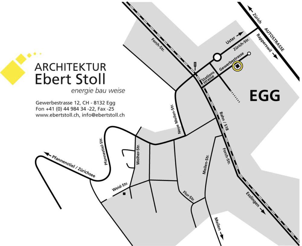 Architektur Ebert Stoll energie bau weise anfahrt